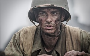 "Andrew Garfield stars as Desmond Doss in ""Hacksaw Ridge."" (Photo Credit: Mark Rogers/Cross Creek Pictures Pty Ltd)"
