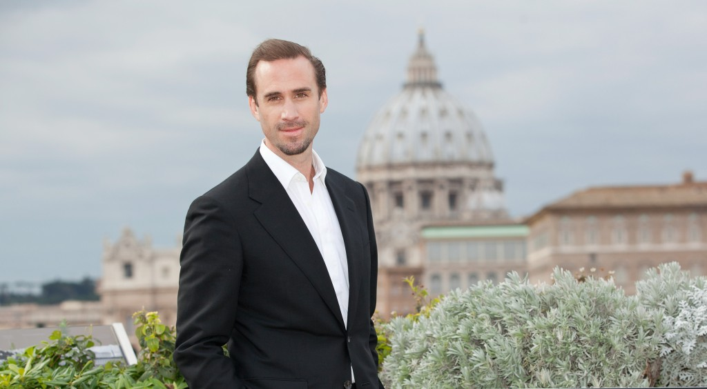 Rome, Italy - February 3, 2016: Joseph Fiennes attends RISEN photocall overlooking Vatican City.