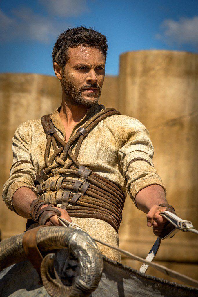 Jack Huston plays Judah Ben-Hur in Ben-Hur from Paramount Pictures and Metro-Goldwyn-Mayer Pictures.