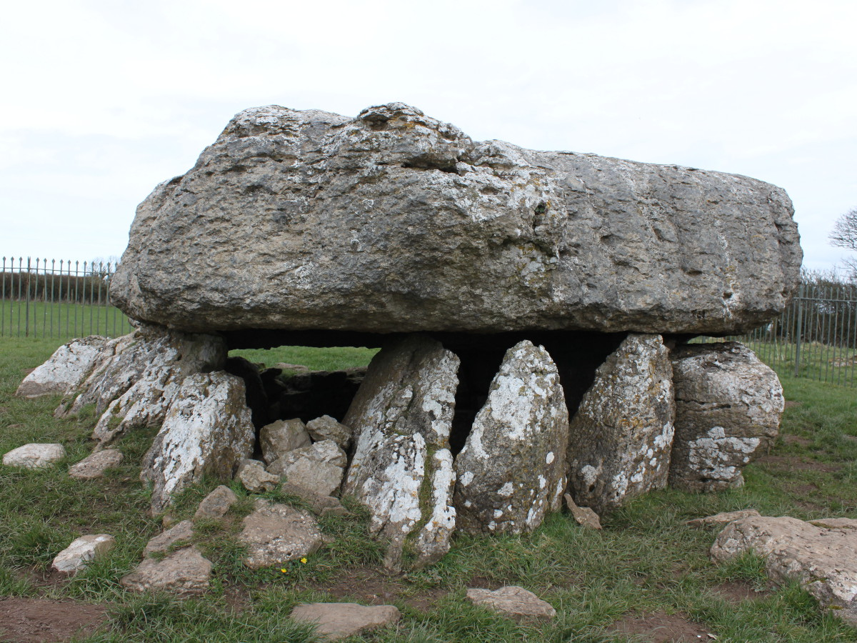 Lligwy Burial Chamber, Anglesey, Wales - built about 3000 BCE