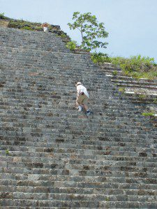 The Grand Pyramid - Uxmal