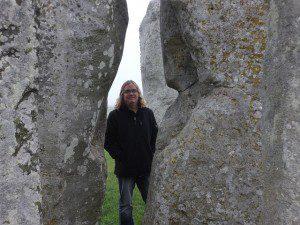 pp Mankey at Stonehenge