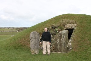 at Bryn Celli Ddu in Wales - 2014