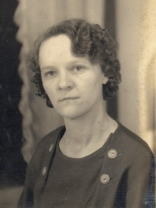 Pearl West (1907 - 1990), my maternal grandmother