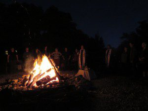 Ritual at the 2015 ADF Texas Imbolc Retreat