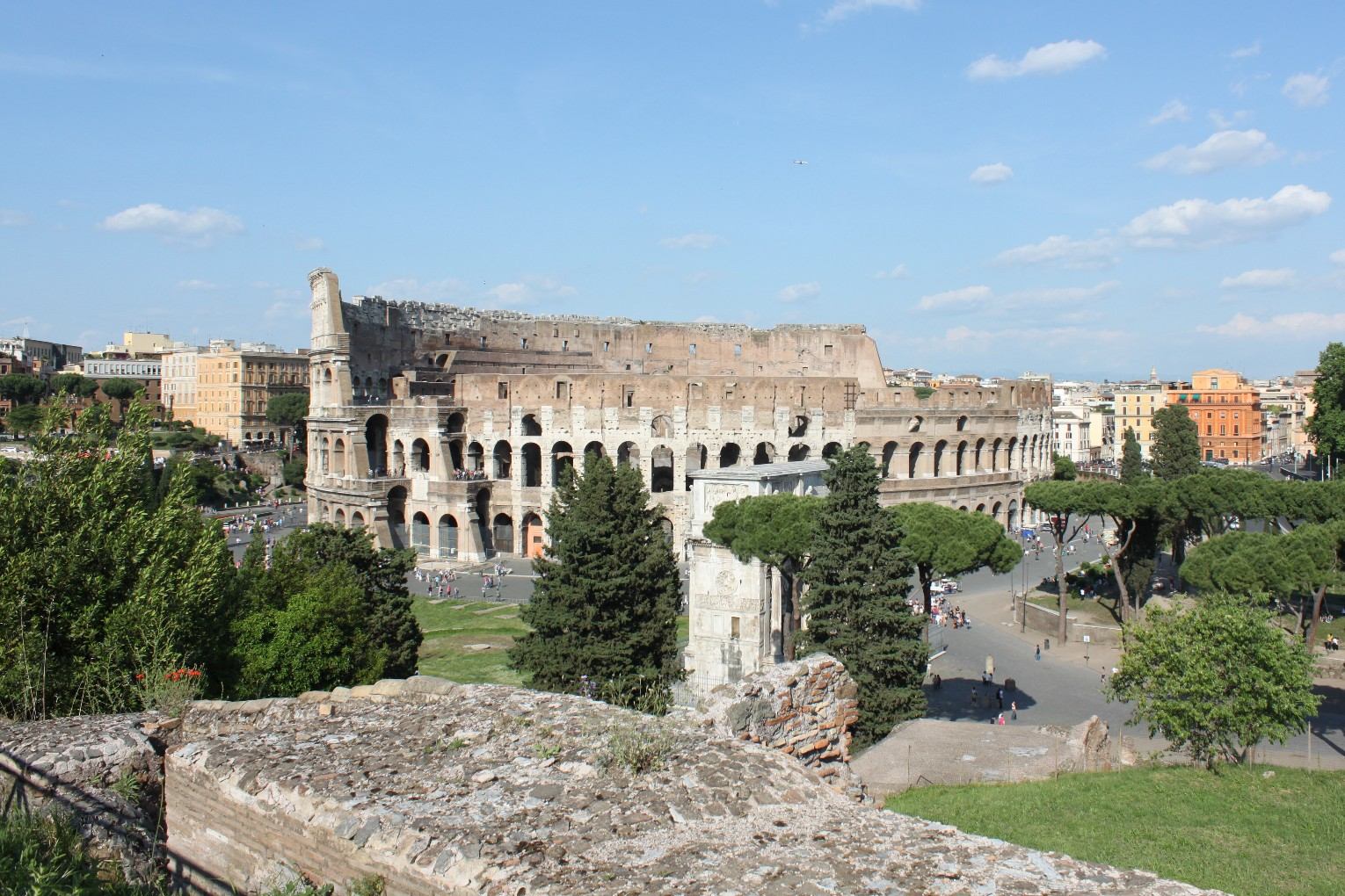 02 17 Coliseum from Forum complex