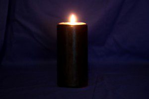 black candle blue