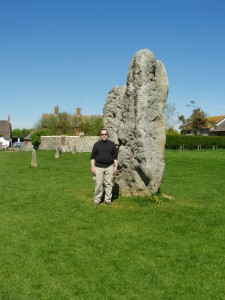 at Avebury, in England, 2007