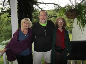 with Thea Worthington and Penny Billington at the 2011 OBOD East Coast Gathering