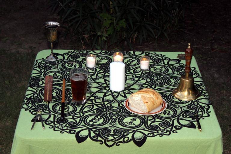 Lughnasadh Altar 2015 01
