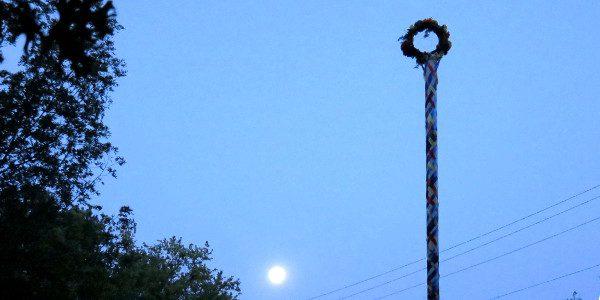 moonrise at Denton CUUPS Beltane - 2015