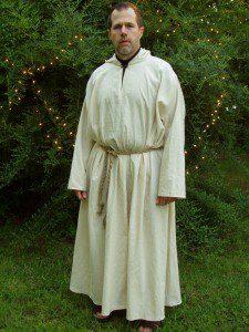 Denton CUUPS Beltane 2004.  Younger, thinner, still a serious Druid