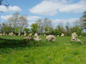 the Rollright Stones - England - 2007