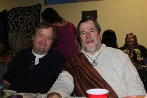 at the Lughnasadh Feast with Tommy Elf - 2011