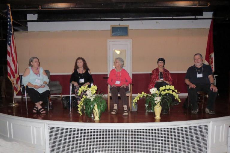 Jerrie Hildebrand, Gypsy Ravish, Shirley Ranck, Byron Ballard, John Beckett