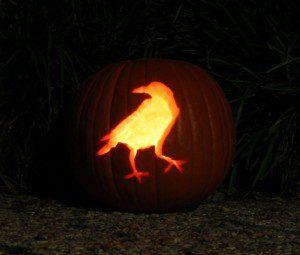 raven pumpkin 2013