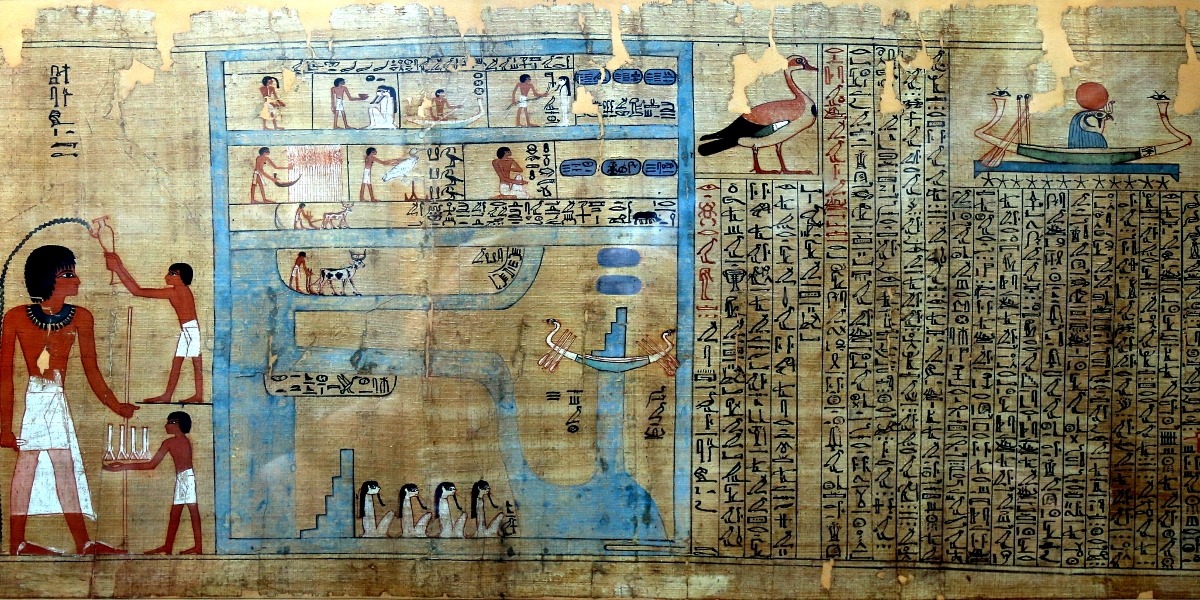 The Book of Going Forth by Day – an annotated map of the Egyptian afterlife – the British Museum