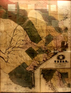 an early map of Texas – the San Jacinto Museum of History