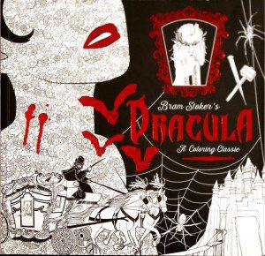 Dracula Coloring Book 00