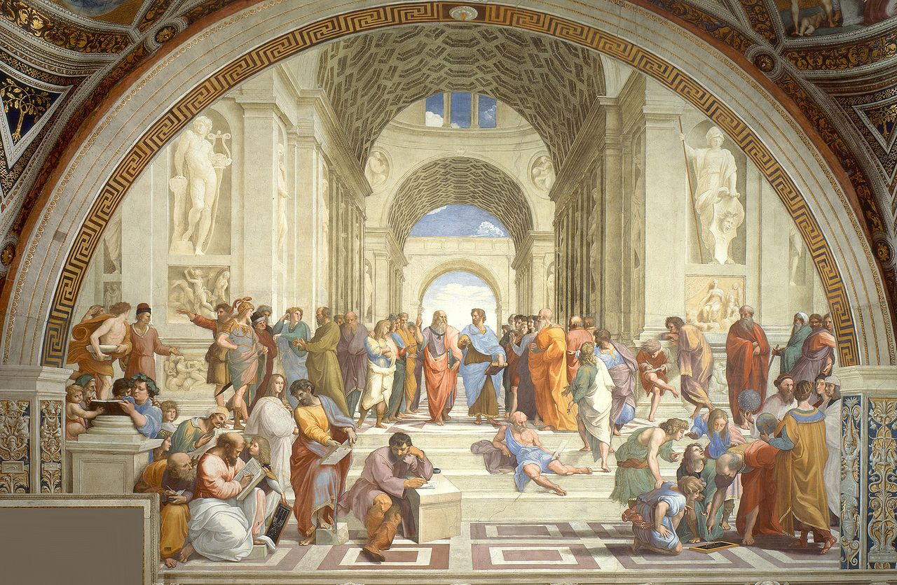 """School of Athens"" by Raphael - 1511"