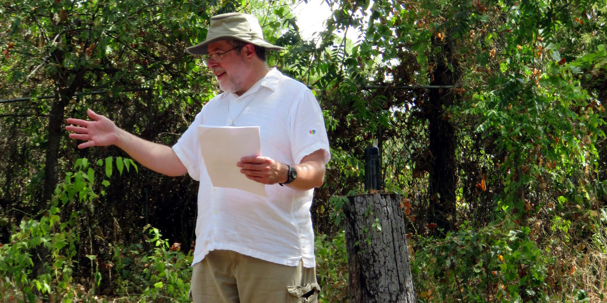 teaching at the 2015 DFW Pagan Unity Fest