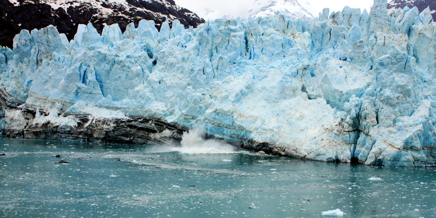 Glacier melting in Alaska - 2011