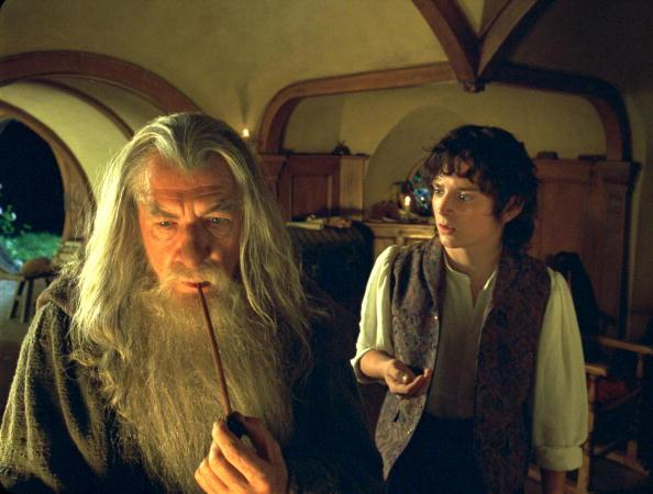 gandalf and frodo