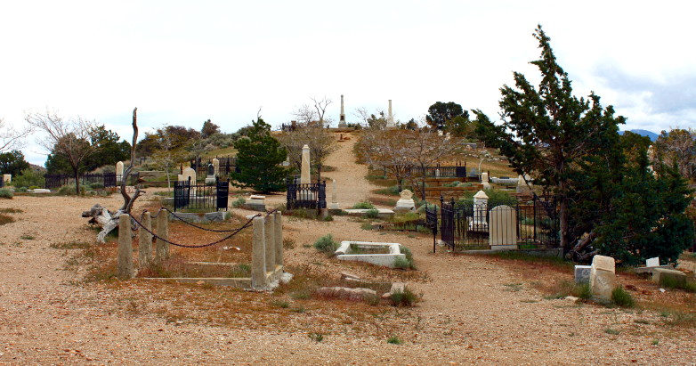 Virginia City Cemetery - 2015