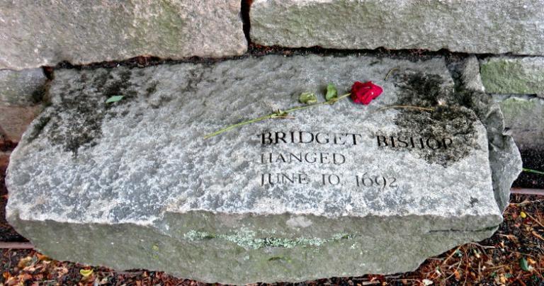 Bridget Bishop martyr