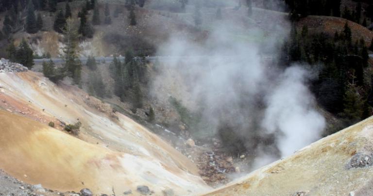 Sulpher Works Lassen Peak 2015