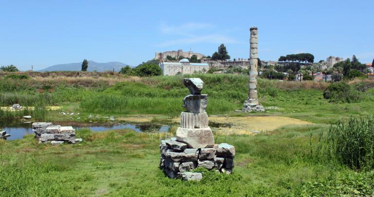 Temple of Artemis - Ephesus, Turkey - 2012