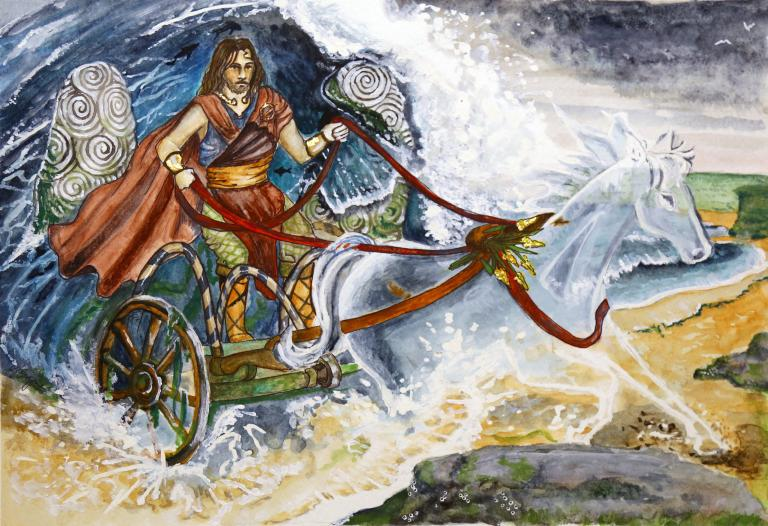 Devotional Art for Manannán mac Lir | John Beckett