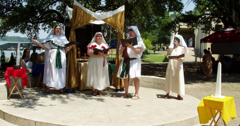 Egyptian Summer Solstice - White Rock Lake Park - Dallas - 2009