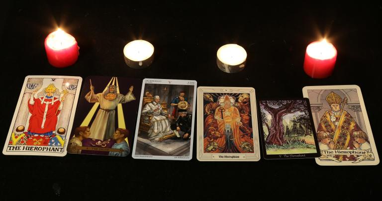 The Hierophant: There's the Easy Way or the Hard Way | John