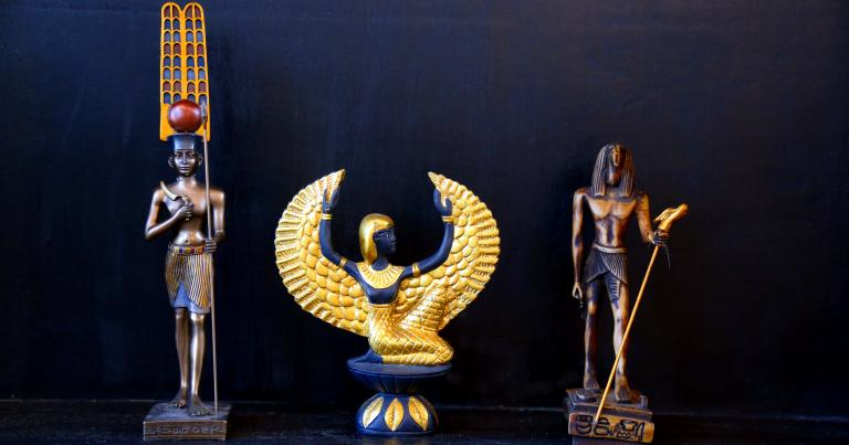 Amun Isis Thoth