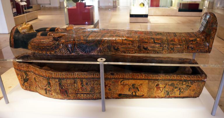 Egyptian Sarcophagus - National Museum of Scotland