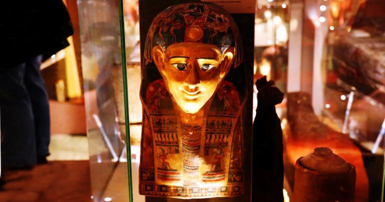 Mummy Mask - National Museum of Ireland