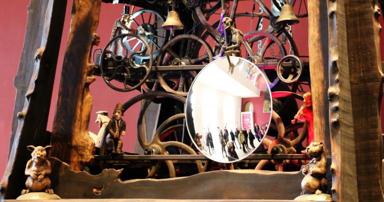 Millennium Clock Tower - National Museum of Scotland