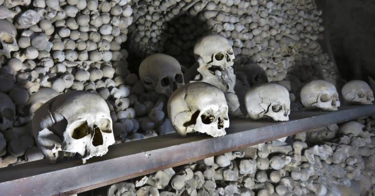 The Bone Church of Kutna Hora