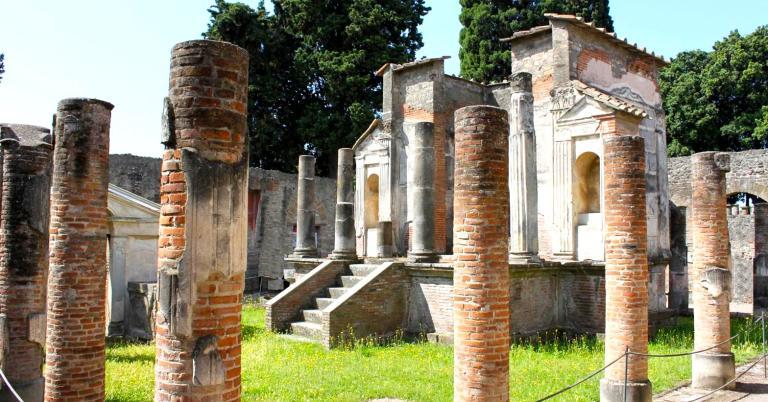 Temple of Isis - Pompeii - 2012