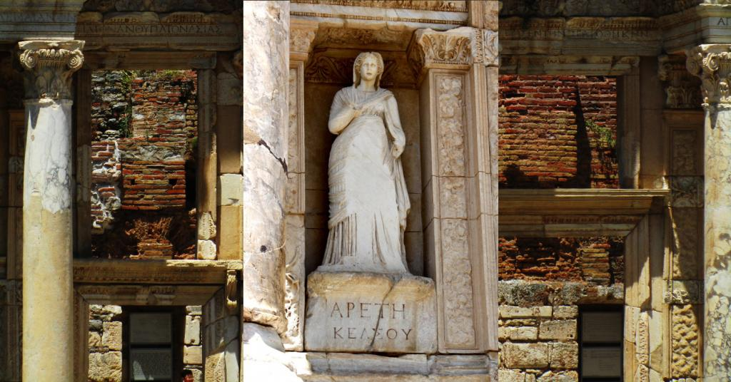Arete - Celsus Library composite