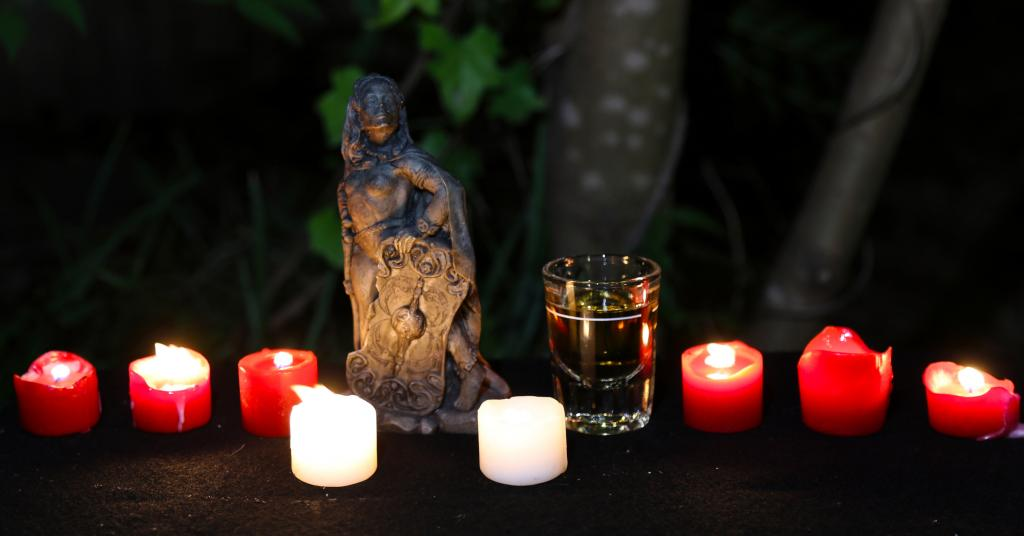 offerings to the Morrigan
