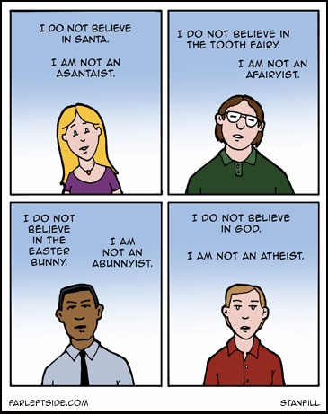 What should atheists call themselves?