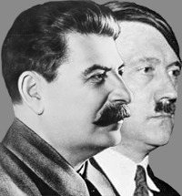 Why were Stalin and Hitler bad? Was it the moustaches?