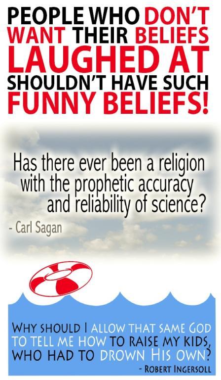 Atheist sign