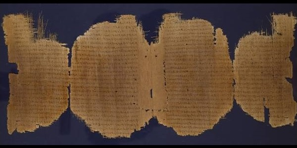 Fragment of Luke from Chester Beatty papyrus