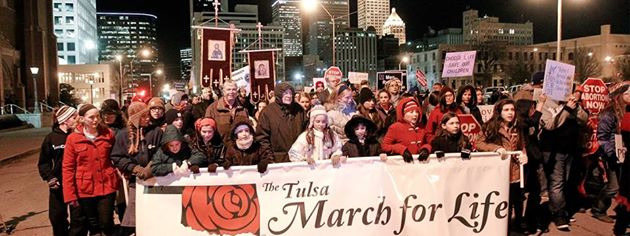 Photo Source: 6th Annual Tulsa March for Life