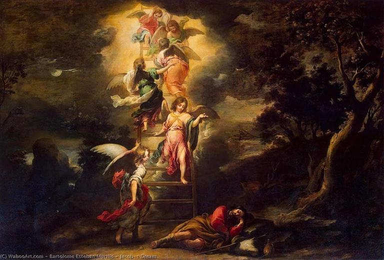 Jesus jacob's ladder.