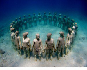 Jason de Caires Taylor's underwater sculptures in Grenada honor fallen African slaves