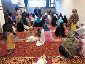 Darus Salam women with children